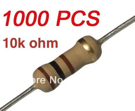 //-5/% 25 pcs Carbon Film Resistors 1//4W 0.25W 0.25 Watt 4.7K Ohm 4.7Kohm 4K7