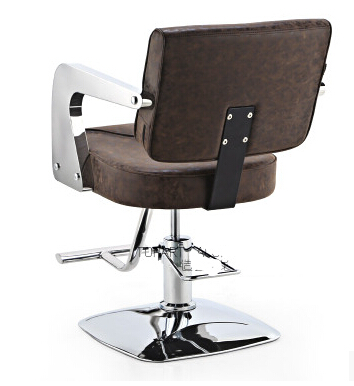 Купить с кэшбэком High-end hair salon haircut chair barber chair salon chair hydraulic chair salon chair stainless steel handrails Gifts