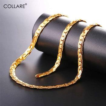66ad7f80d822 Conjuntos de cadena de eslabones de serpiente Collare para hombres ...