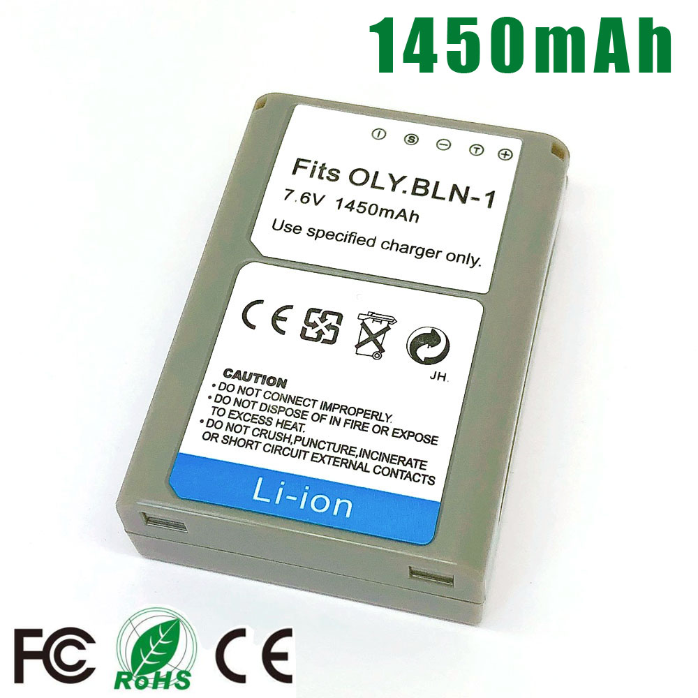 BLN-1 BLN 1 PS BLN1 PS-BLN1 Battery for Olympus OM-D OMD E-M1 E-M5 Mark II PEN-F E-P5 EM1 EM5 PENF EP5 Battery image