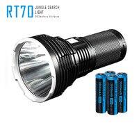 Imalent RT70 светодио дный фонарик Cree XHP70 2nd поколения светодио дный USB Перезаряжаемый фонарик 4X18650 3000 мАч батареи
