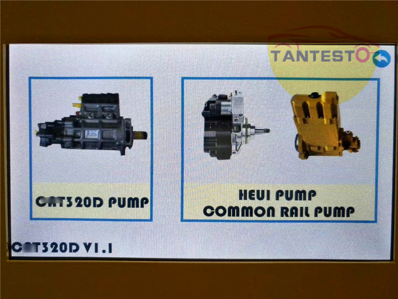 Testeur de pompe à rampe commune diesel pour CATT 320D, testeur de pompe EUI/HEUI, avec débitmètre de pompe DRV