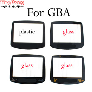 TingDong Replacement Screen Lens cover For Gameboy Advance glass lens for GBA Plastic lens Glass lens Protector(China)