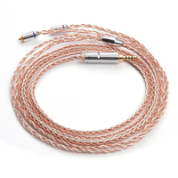 New Arrival LZ 8 Core 6N Upgraded Single Crystal Copper Cable 4 4 2 5 3