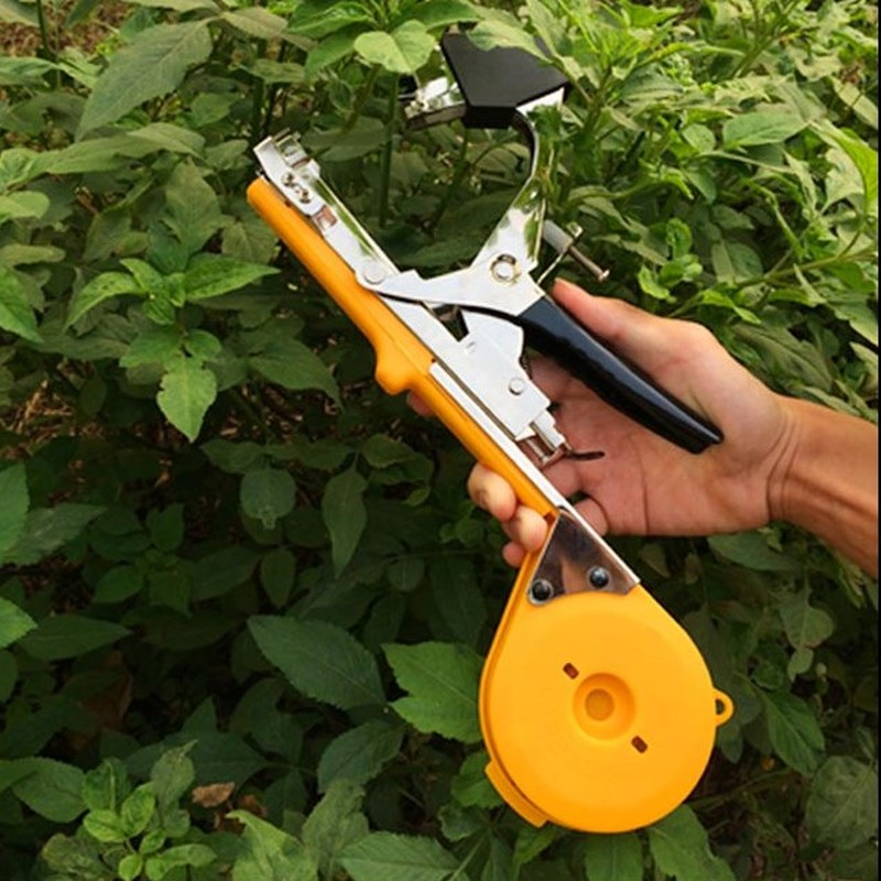 1set High Quality Plant Tying Tapetool Tapener Machine Tapener Stem Strapping Packing for Vegetable Potted Garden Tools