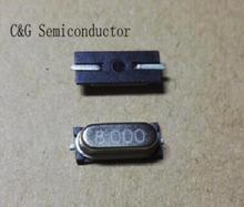 500 قطعة HC 49S 49S 8 MHZ 8 M 8 MHZ SMD متذبذب بلوري سلبي