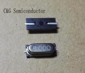 Image 1 - 500pcs HC 49S 49S 8 MHZ 8 M 8 MHZ SMD cristallo Passivo