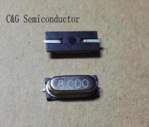 500pcs HC 49S 49S 8 MHZ 8 M 8 MHZ SMD cristallo Passivo