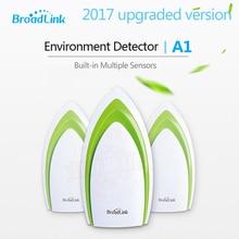 2017 Broadlink A1 Smart Home Sensor,Temperature Humidity Sensor,Air Quality Light Gas Sound Sensor, Wireless Wifi Remote Control