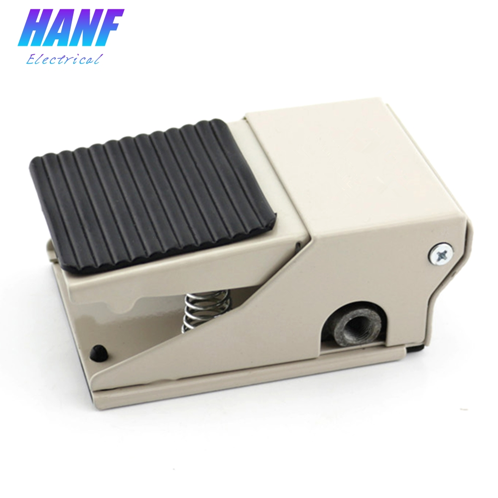 1pcs Foot Pedal Switch Air Pneumatic Pedal Valve Switch 2 position 4 way 1 in 2 out Aluminium Alloy Foot Switch 1 4 2 position 5 way air pneumatic foot pressure control valve st 402a x 1