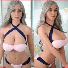 165 см настоящие силиконовые секс-куклы робот японское аниме полная оральная любовь Кукла Реалистичная для взрослых для мужчин игрушки большая грудь сексуальное маленькое влагалище
