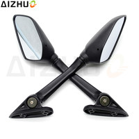FOR Yamaha R15 R25 YZF R25 YZF R15 Motorcycle Rearview Mirror ABS Plastic White Lens Pentagon Motor Accessory Rear View Mirror