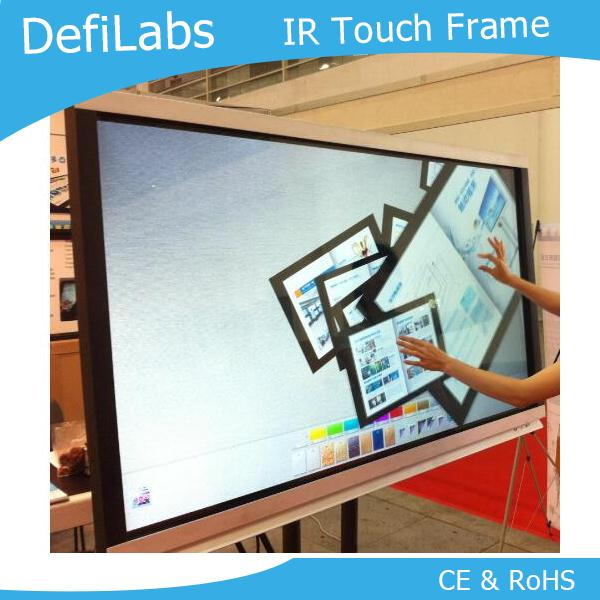 DefiLabs 10 Touch points 55 Inch Infrared Touch Screen Frame overlay