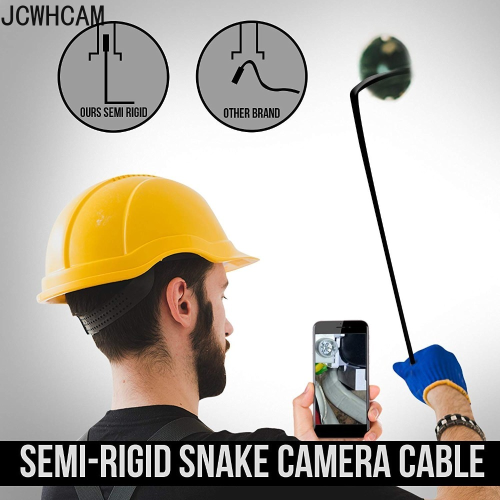 Image 4 - Full HD 1080p Endoscope Camera MicroUsb Type C Android Smartphone 2M 5M 10m Hard Flexible Wire 8mm Endoscopy Camera Inspection-in Surveillance Cameras from Security & Protection