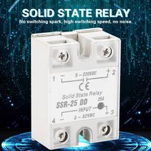 цена на latching relay SSR-25 DD 25A 5-220VDC Solid State Relay For Industrial Automation Process off delay timer relay