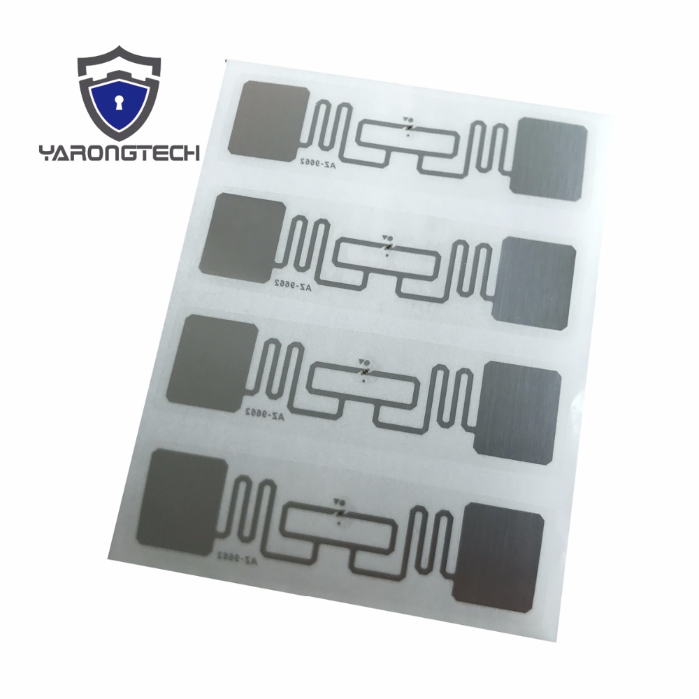 Alien H3 3'' x 1'' UHF RFID Adhesive Tag RFID Label 500lbls / roll Free shipping