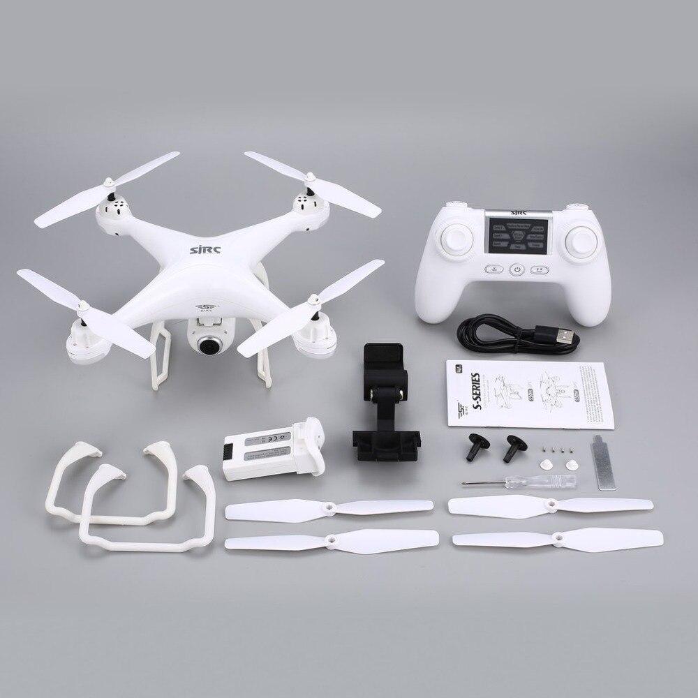 SJ R/C caméra Selfie Altitude S20W FPV 720P 1080P tenir Drone sans tête Mode retour automatique décollage/atterrissage vol stationnaire GPS RC quadrirotor