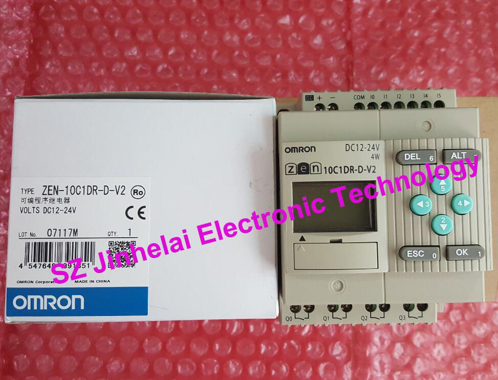 ZEN-10C1DR-D-V2 New and original OMRON Programmable relay бра artelamp ivory a9070ap 1ab