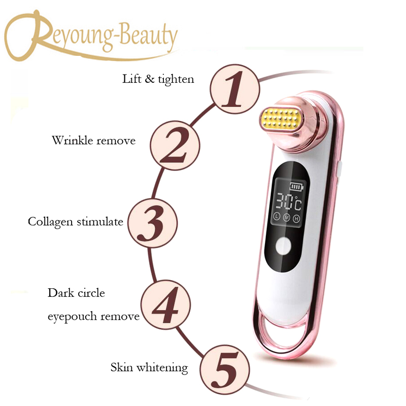 Mini Handheld Fractional RF Thermage Dot Matrix Collagen Stimulation Face Lifting Skin Tightening Facial Beauty Machine электрическая плита gorenje ec62cli бежевый