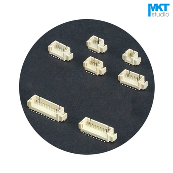 1000Pcs Vertical SMD 1.25mm Pitch Male Box Header Wafer 8P 9P 10P