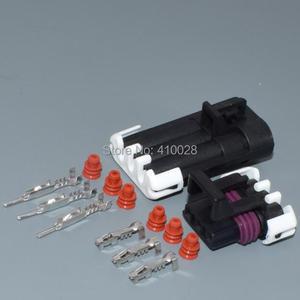 Image 4 - Shhworldsea 3pin 1.5mm otomatik elektrik kablosu fişi Hız krank mili Mühürlü 150 Üç Yollu Konnektörler 12129615 12110293