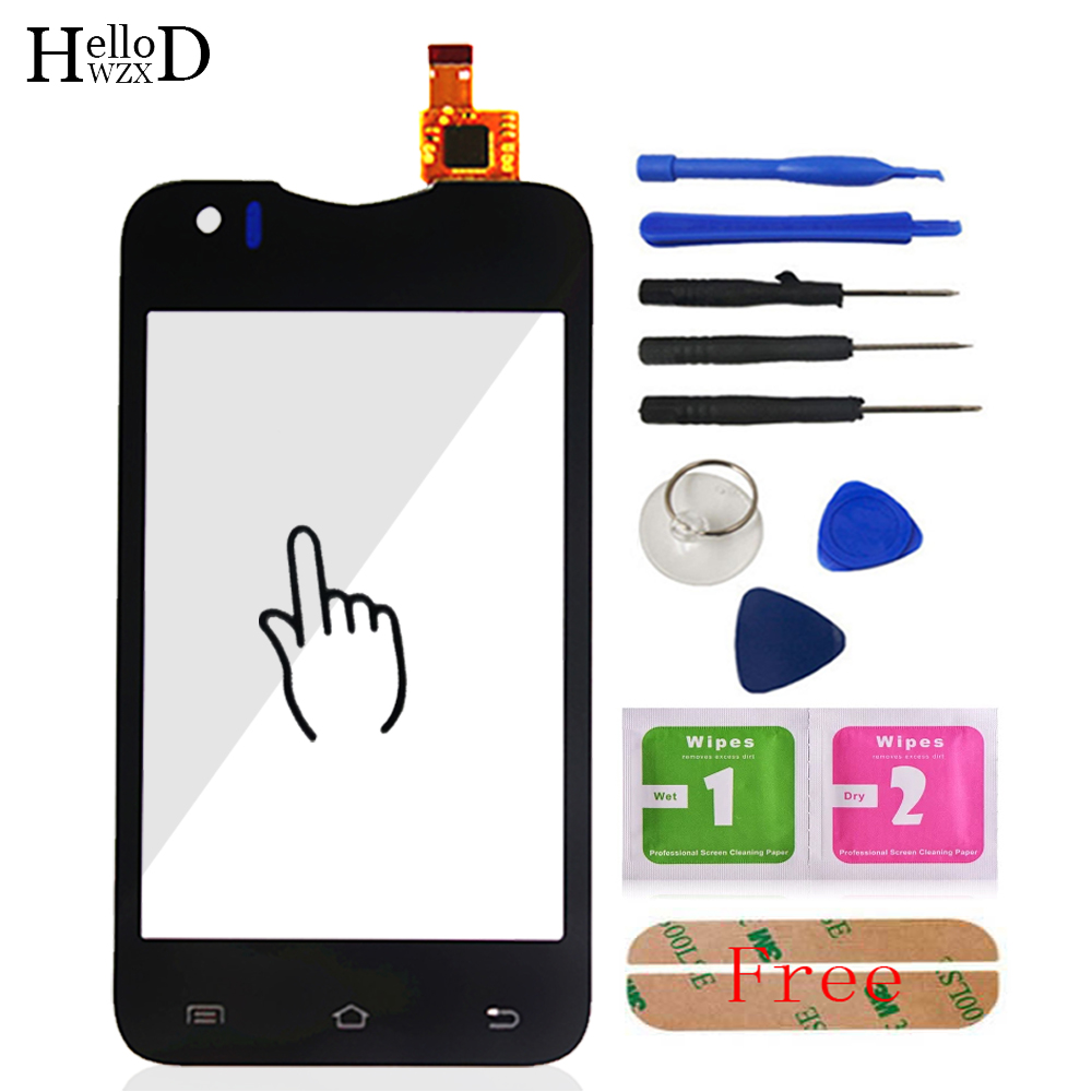 Touch Screen Digitizer Panel For Explay A350TV A360TV For Star TV A350 Sensor Touchscreen Phone Front Glass Tools Adhesive