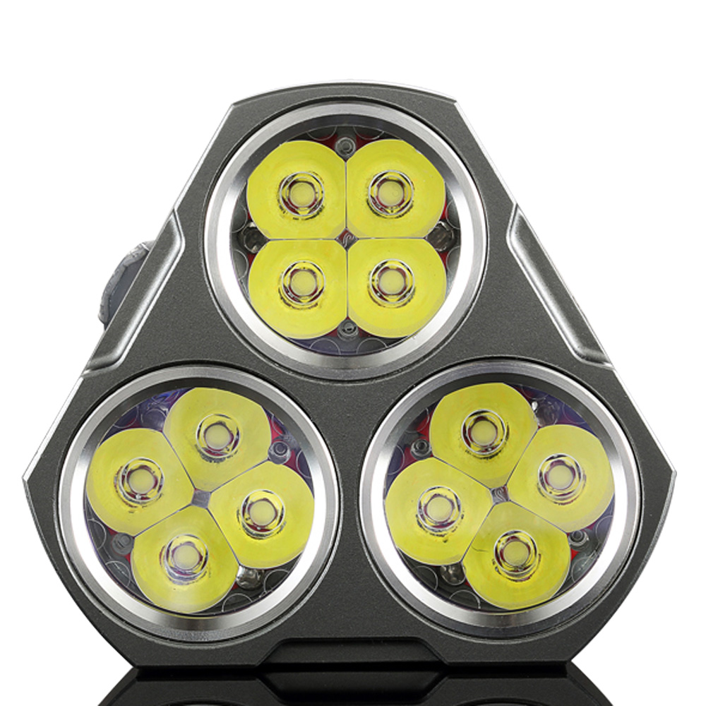Manker MK34 LED Linterna 8000 Lumen 12x Cree XPG3 / 6500LM 12x Nichia - Iluminación portatil - foto 4