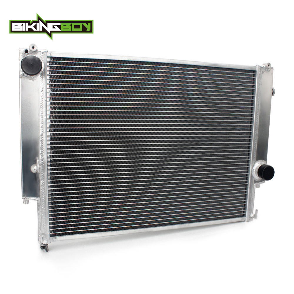 BIKINGBOY автомобиля радиатор охлаждения двигателя авто 2 ряда радиатора для BMW MT E36 1992 1993 1994 1995 1996 1997 1998 99 Core 548X438X40 мм