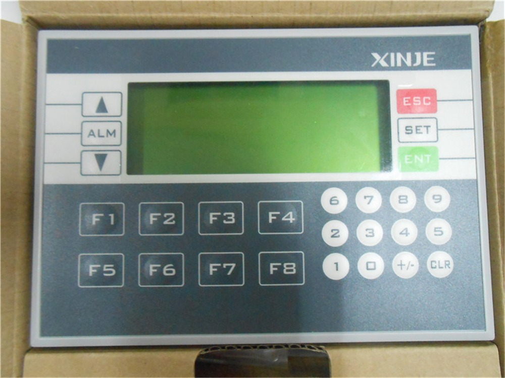 Text Panel 26 Keys 3.7 192*64 Yellow-Green STN OP330-S with programming cable New In BOX new original kinco 4 3 stn hmi text display md204l 192 64 20 keys with programming cable