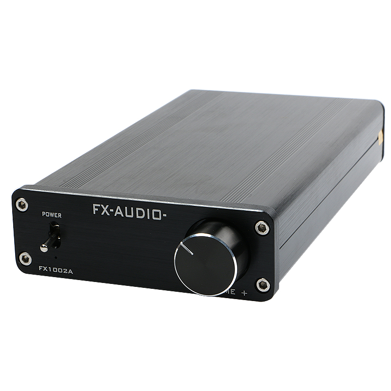 NEW FeiXiang FX-AUDIO FX1002A TDA7498E TL082 audio High-power digital power amplifier  audio A1 preamp 160W * 2 Free shipping see by chloé повседневные брюки