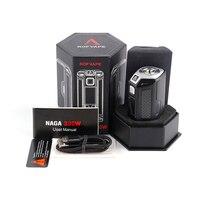 Orijinal Rofvape Naga 330 W Mod BYPASS NI TI SS GÜÇ MOD fit 18650 Pil Elektronik sigara mods Sıcaklık Kontrolü Vape