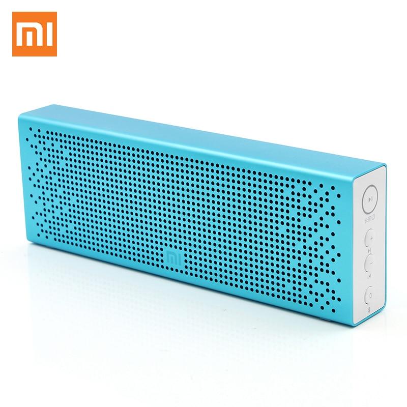 Prix pour D'origine Xiaomi Mi Bluetooth4.0 Haut-Parleur Portable Sans Fil Mini Haut-parleurs Micro Carte SD Aux In BT4.0 pour IPhone et Android Téléphones