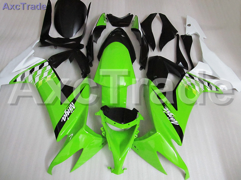 Bodywork Moto Fairings FIT For Kawasaki Ninja ZX10R ZX-10R 2008 2009 2010 08 09 10 Fairing kit Custom Made High Quality ABS C506 black moto fairing kit for kawasaki ninja zx14r zx 14r zz r1400 zzr1400 2006 2007 2008 2009 2010 2011 fairings custom made c549