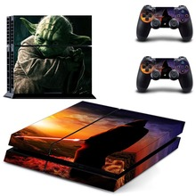 Film Star Wars PS4 Skin Sticker Decal Vinyl for Playstation 4 Console and 2 Controllers PS4 Skin Sticker