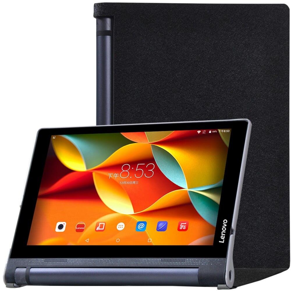 Case for Lenovo YOGA Tablet 3 10 Silk Grain PU Leather Funda