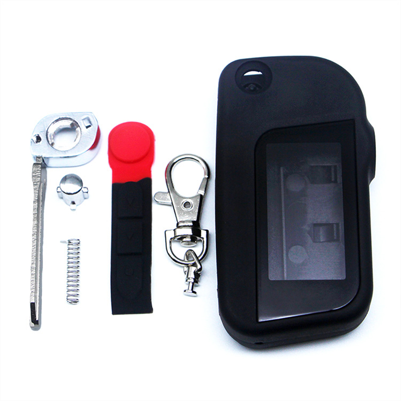 A93 Uncut Case With Glass For Starline A93 A63 A39 Uncut Blade Fob Case Cover A93 Folding Car Flip Remote