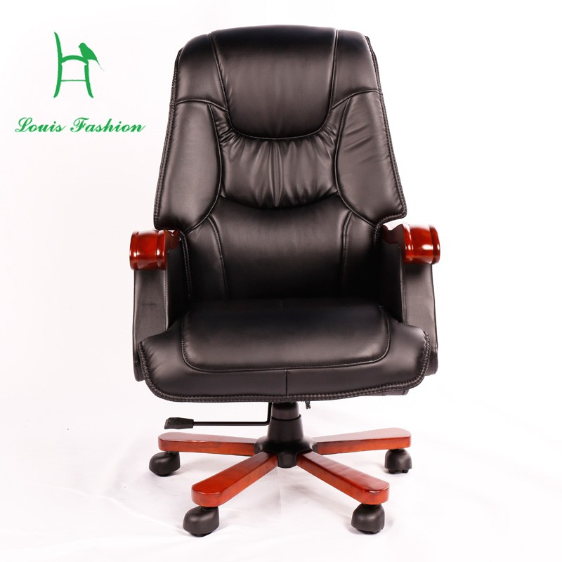 black reclining folding comfortable boss office sofa chair with high quality pu - Black Leather Recliner