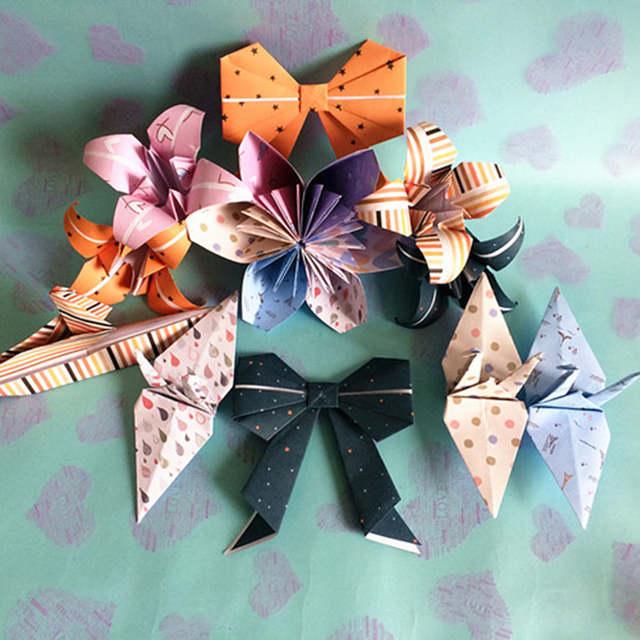 Online Shop 50pcslot 1515cm Origami Paper Folding Square Paper