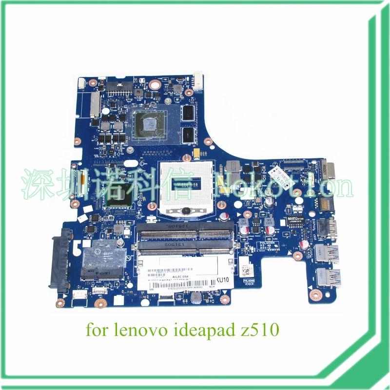 AILZA NM-A181 Rev 0.3 for lenovo ideapad Z510 laptop motherboard Nvidia GT740M 2gb