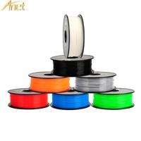 16Rolls/CTN Anet PLA ABS Filament 3D Printer Filament 0.5kg/Roll 1.75mm for MakerBot Anet RepRap 3D Printer Pen 12 Colors Option