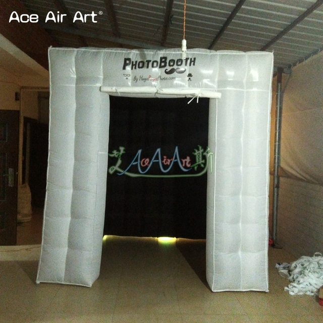 Personalised Led Inflatable Cube Tent Photo Boothphoto Cabin Kiosk