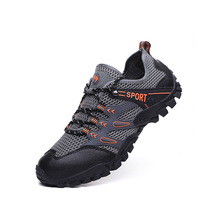 2019 Men Sneakers Outdoor Breathable Hiking Shoes Big Size Sandals Trekking Trail Water Climbing
