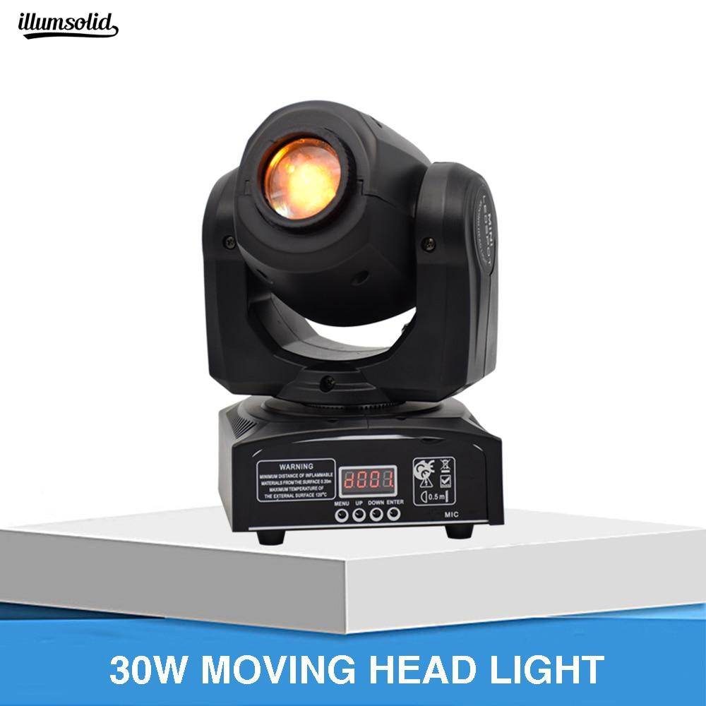 Mini 30w Led Moving Head Light Led Party Lights Led Dmx Spot Led Beam Disco