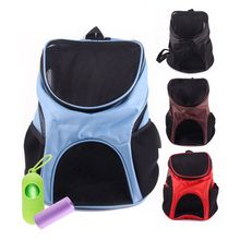 Foldable Soft Padded Pet Carrier Backpack Dog Cat Breathable Portable Bag with Ventilated Mesh
