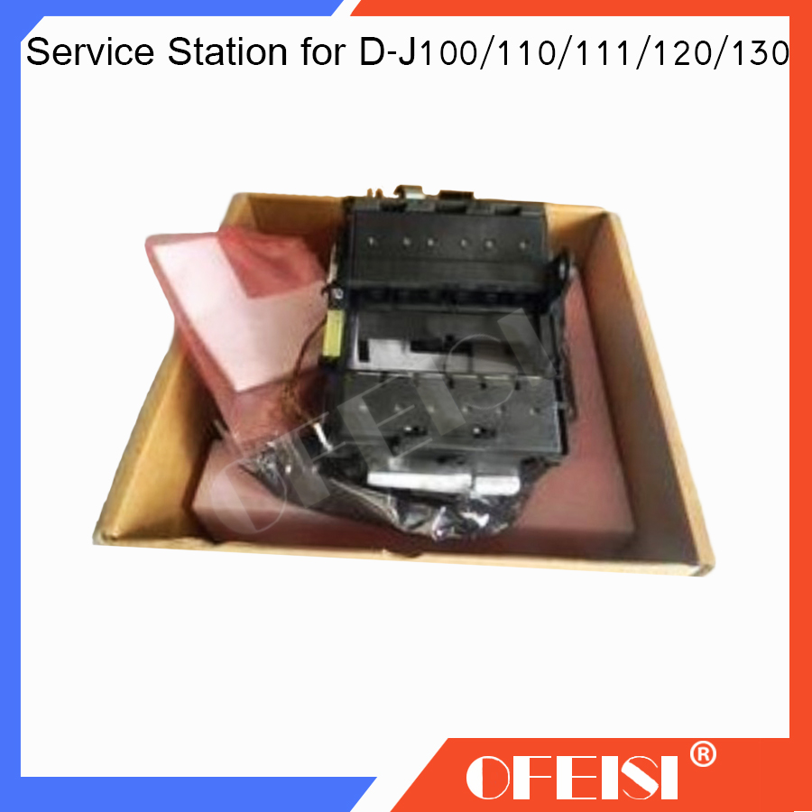 Original C8109-67029 C7796-60203 Service Station assembly for HP Designjet 100 110 111 120 130 plotter parts on sale carriage assembly for hp designjet 70 100 110 hp business inkjet 2600 c7796 60022 c7796 60077 plotter part used