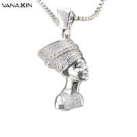Figure Pendant Necklace Punk Trendy Style Gold Color Jewelry Women Necklaces Unisex Statement Fashion Jewelry For