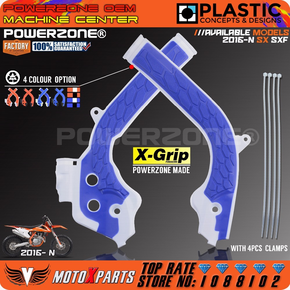 Powerzone X Grip Rahmen Schutz Abdeckung Für KTM SX125 150 SXF250 ...