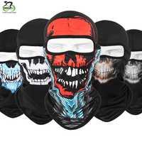 Wielofunkcyjny szalik na głowę wiatroszczelna MTB rower maska kolarska na twarz pełną ochronę przed promieniowaniem UV piesze wycieczki narciarskie połowów maska szalik chustka nakrycia głowy