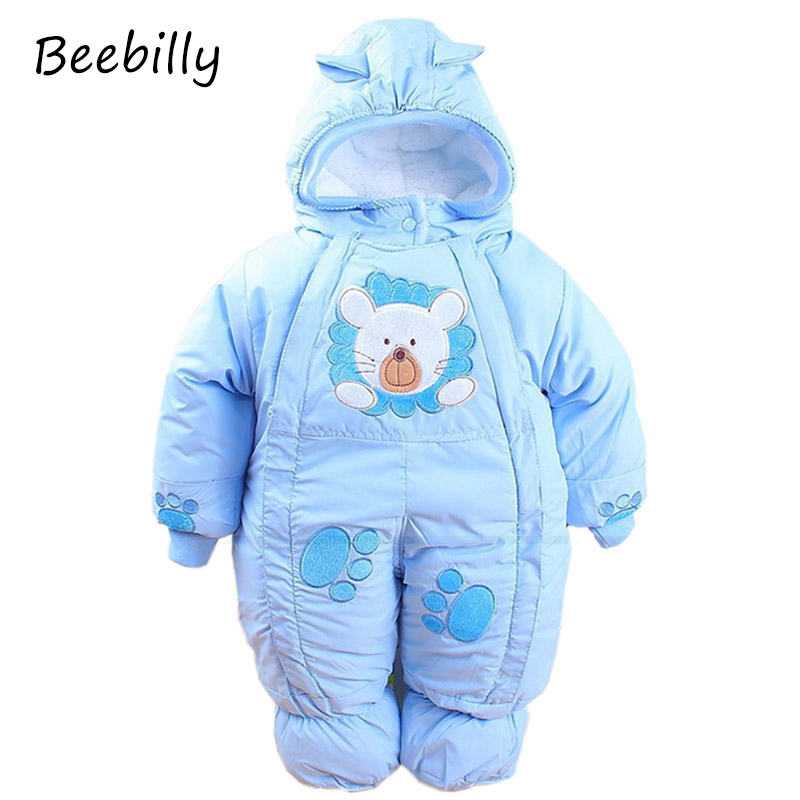 Baby Rompers Autumn & Winter Newborn Infant Baby Clothes Fleece Animal Style Clothing Romper Baby Clothes Cotton-padded Overalls cotton baby rompers set newborn clothes baby clothing boys girls cartoon jumpsuits long sleeve overalls coveralls autumn winter
