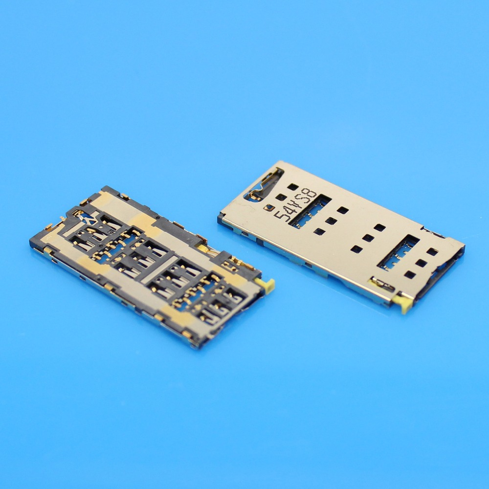 Jing Cheng Da 5PCS/lot,new SIM card reader connector for Sony Z4 Z3+ ...